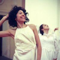 Ero contentissimo – Studio per una performance sull'iconografia della felicità femminile (2010)